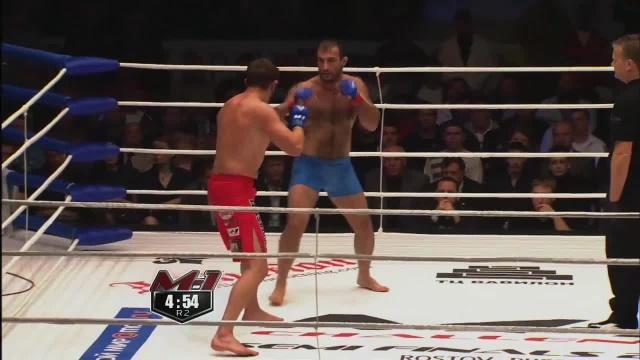 Бесики Геренава vs Ли Остин, M-1 Challenge 19