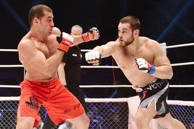 Дмитрий Тебекин vs Артур Тюльпаров, M-1 Challenge 74