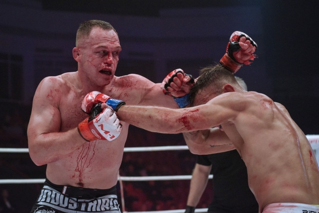Микаэль Лебу vs Алексей Махно, M-1 Challenge 97&Tatfight 7