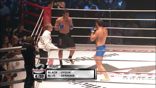 Бесики Геренава vs Мехмет Уйгун, M-1 Challenge 09