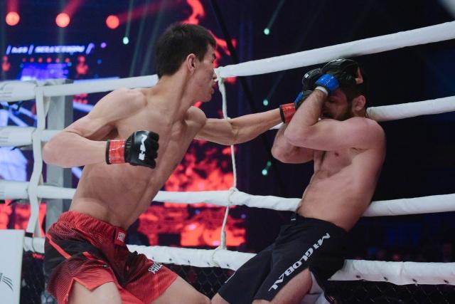 Бено Адамия vs Абылайхан Кадыржан, M-1 Challenge 101