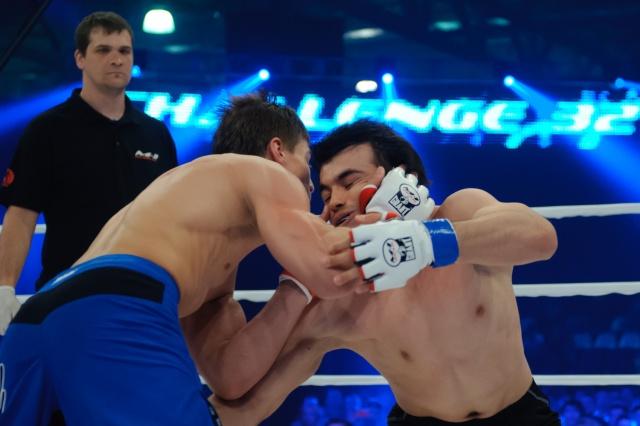 Игорь Егоров vs Ифтихор Арбобов, M-1 Challenge 32