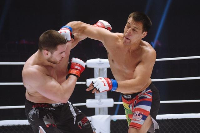Абылкасым Якубов vs Дмитрий Тебекин, M-1 Challenge 90
