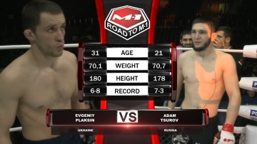 Evgeny Plaxin vs Adam Tsurov, Road to M-1
