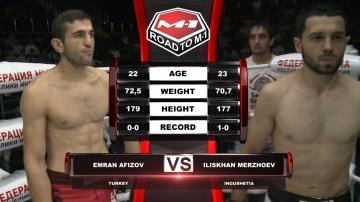 Эмран Афизов vs Илисхан Мержоев, Road to M-1