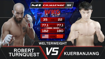 Роберт Тернквист vs Куэрбаньян, M-1&WKG Challenge 91