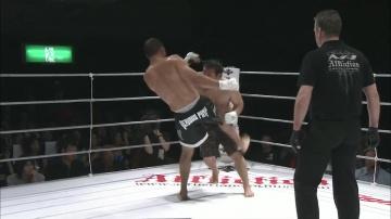 Рафаэль Девис vs Дже-Янг Ким, M-1 Challenge 14