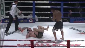 Михаил Заяц vs Кристоф Дафревилль, M-1 Challenge 01