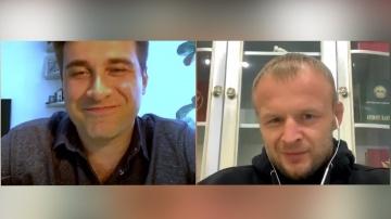 Александр Шлеменко о бойцах М-1 в UFC, прогноз на бой Петр Ян-Жозе Альдо, Емельяненко и Олейнике