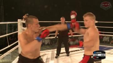 Роберт Лау vs Шимон Косман, Road to M-1: Germany