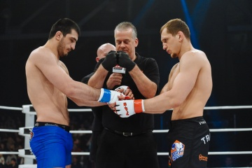 Рамазан Эмеев vs Вячеслав Василевский, M-1 Challenge 56