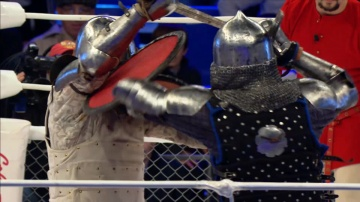Максим Плаксин vs Сергей Уколов, M-1 Challenge 52, Medieval MMA