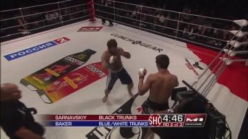 Александр Сарнавский vs Бо Бейкер, M-1 Challenge 24