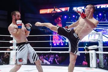Алик Албогачиев vs Руслан Хисамутдинов, M-1 Challenge 83 & Tatfight 5