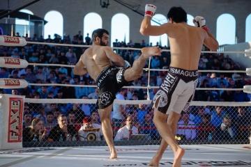 Рамазан Эсенбаев vs Дамир Исмагулов, M-1 Challenge 61