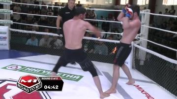 Хассейн Шейхаев vs Закир Яндиев, Road to M-1: Ingushetia 4