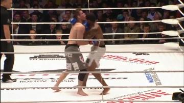 Иван Хорхе vs Стив Магдалено, M-1 Challenge 19