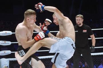 Дмитрий Тихонюк vs Борис Медведев, M-1 Challenge 96