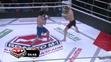 Лиуан Мирзов vs Висхан Эзерханов, Road to M-1: Ingushetia 3