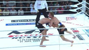 Павел Кокарев vs Антон Бестаев, M-1 Selection 2009 5