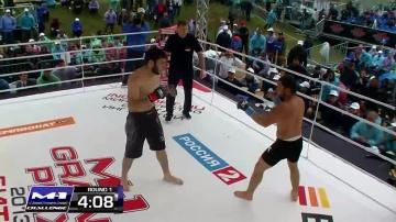 Ренат Абильтаров vs Рустам Хасанов, M-1 Challenge 40