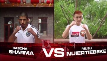 Саша Шарма vs Мусу Нуертибиеке, M-1 Challenge 80