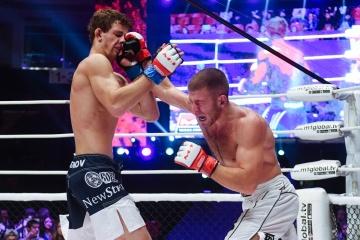 Александр Осетров vs Ленар Сулейманов, M-1 Challenge 83 & Tatfight 5