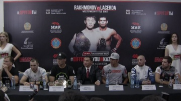 M-1 Challenge 102 Press-conference, July 27, Nur-Sultan, Kazakhstan