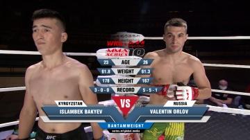 Исламбек Бакыев vs Валентин Орлов, MMA Series 10: M-1 Online & WKG