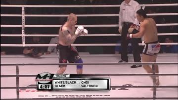 Сеунг Хьюн Чой vs Тони Валтонен, M-1 Challenge 02