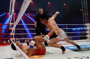 Алияр Саркеров vs Эхтигат Адакишиев, M-1 Challenge 34