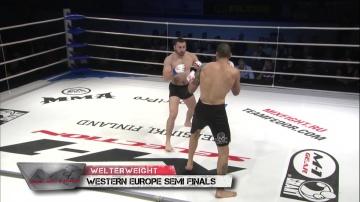 Абнер Льоверас vs Милян Якич, Selection 2010 Western Europe Round 3