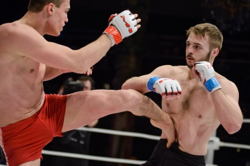 Олег Хачатуров vs Алексей Корнеев, M-1 Challenge 45