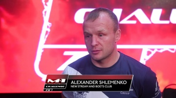 "Александр Шлеменко: ""Реванш? Брэндон много хочет"""