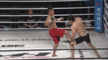 Киеси Кувабара vs Хэ Ен Хан, M-1 Selection 2011 - Asia Round 1