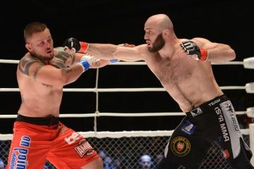 Хулио Галлегос vs Магомед Измайлов, M-1 Challenge 43