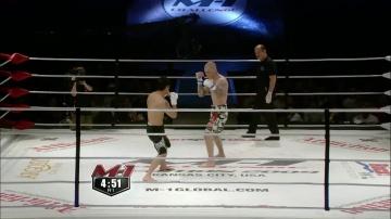 Ренато Миглиаччио vs Нико Пухакка, M-1 Challenge 16