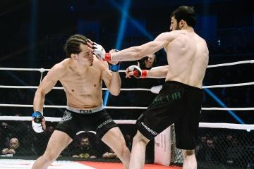 Пабло Ортманн vs Ингисхан Оздоев, M-1 Challenge 87