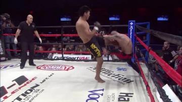 Татсуя Мизуно vs Хосе Белтран, M-1 Challenge 08
