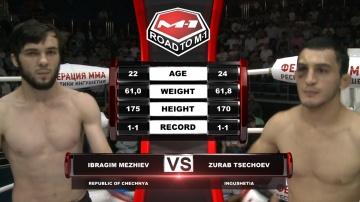 Ибрагим Межиев vs Зураб Цечоев, Road to M-1
