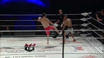 Гаэль Гримо vs Саймон Филлипс, M-1 Challenge 16