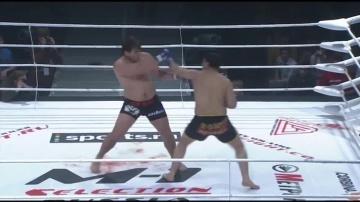 Кирилл Сидельников vs Ризван Даниялов, M-1 Selection 2009 3