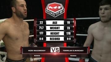 Хизри Магомедов vs Темирлан Эльмурзаев, Road to M-1