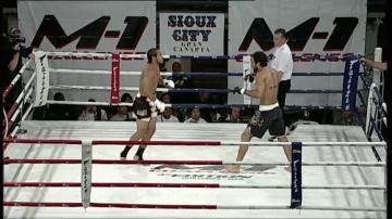 Моисес Габин vs Лусио Линьярес, M-1 Challenge 03