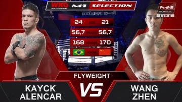 Кайк Аленкар vs Ванг Чжэнь, M-1 Challenge 103