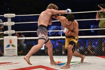 Энди Янг vs Сергей Морозов, M-1 Challenge 59