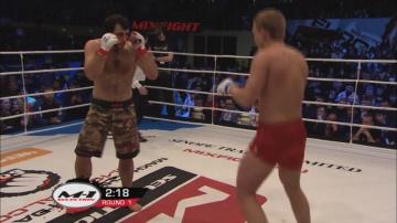 Гаджимурад Антигулов vs Сергей Филимонов, M-1 Selection 2011 - European Tournament