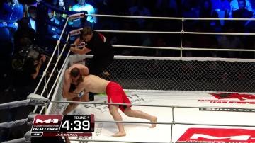 Артур Одилбеков vs Асиф Тагиев, M-1 Challenge 48