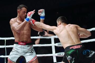 Рубенилтон Перейра vs Магомедкамиль Маликов, M-1 Challenge 105