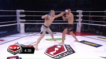 Levan Solodovnikov vs Artem Nenahov, Road to M-1 - Saint Petersburg 3